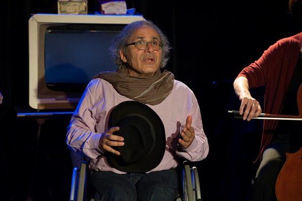 Frédéric Zeitoun raconte son «histoire enchantée» de «petit juif à roulettes» au Grand Point Virgule