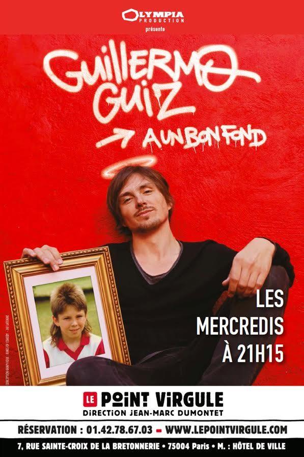 Guillermo Guiz «a un bon fond» au Point Virgule
