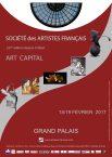 Affiche 2017 du Salon des Artistes Francais