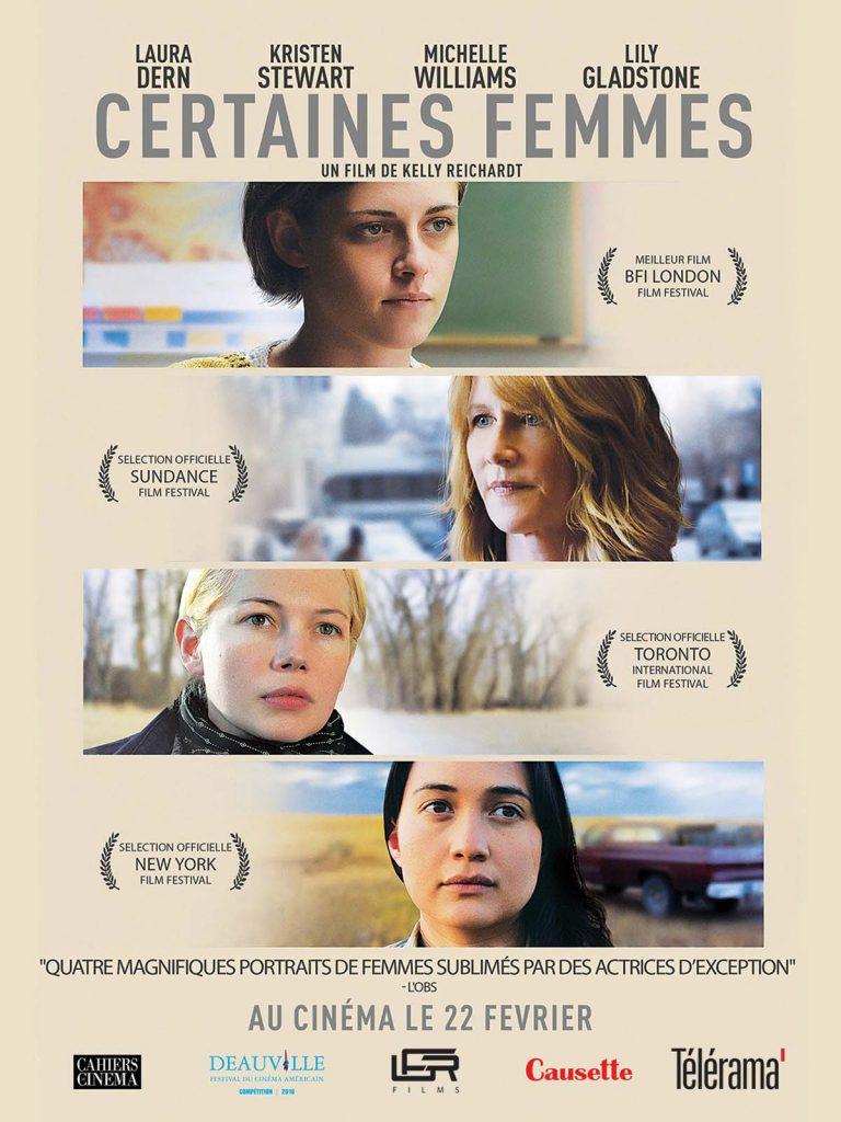 [Critique] «Certain women», Laura Dern, Michelle Williams, Kristen Stewart, trois femmes puissantes et fragiles sublimées par Kelly Reichardt