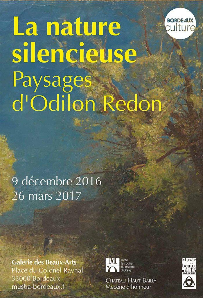 Les paysages d'Odilon Redon s'exposent à Bordeaux