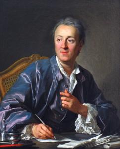Denis Diderot par Louis-Michel Van Loo
