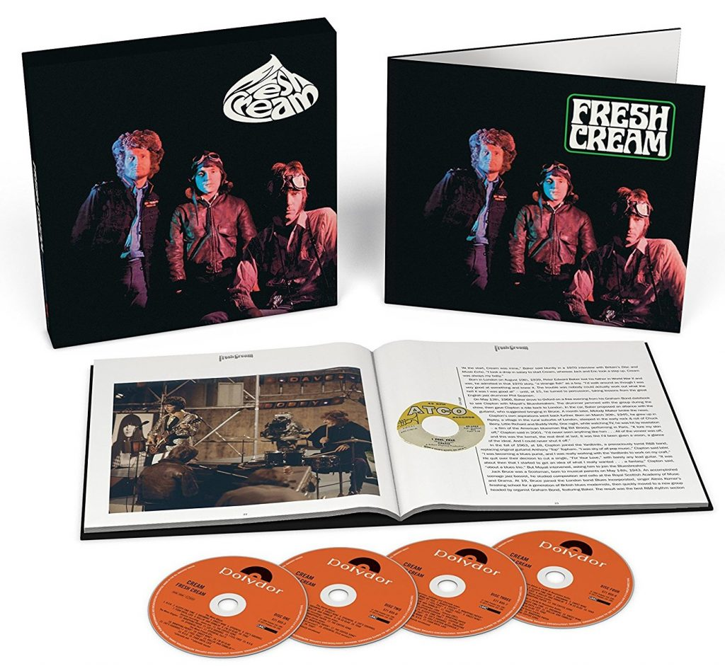 CREAM « Fresh Cream » Super Deluxe Edition