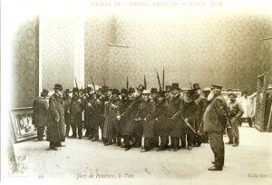 Le jury du Salon de 1903 © archives Artistes Français