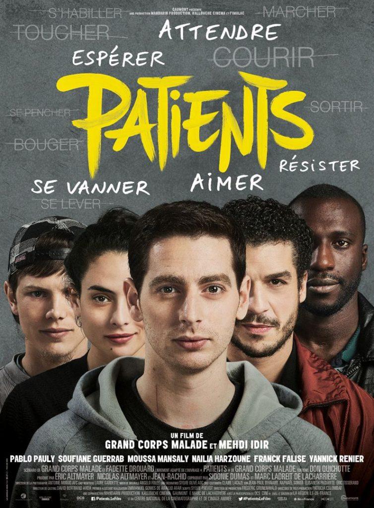 [Critique] du film « Patients » Grand Corps Malade retrace son séjour en centre de rééducation