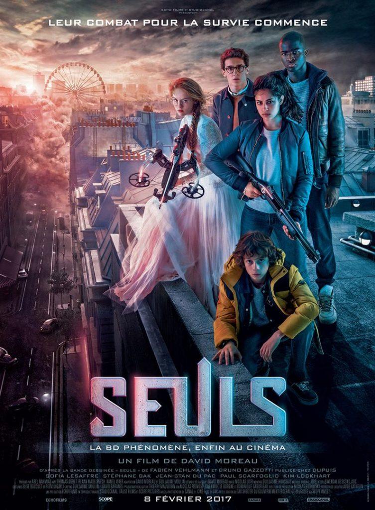 [Critique] du film « Seuls » essai prometteur de S-F pour ados à la française