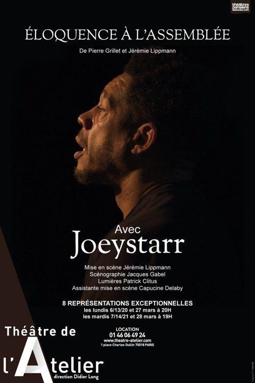 «Eloquence à l'Assemblée» : JoeyStarr incarne avec fougue les grands orateurs de la République