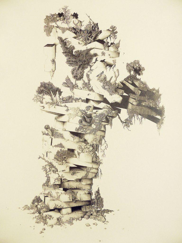 Marie Havel de la h gallery, lauréate du prix DDessin
