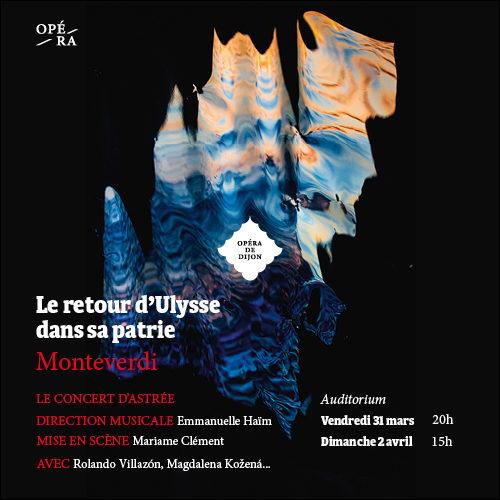 Le Retour d'Ulysse à l'opéra de Dijon
