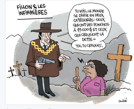 [Revue de presse] : Casseroles, Cabinet noir, Leroux, Fillon : mars 2017 en caricatures et dessins d'actualité