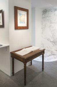 Mapping At Last, vue de l'exposition à la Galerie Eric Mouchet ©Robin Lopvet