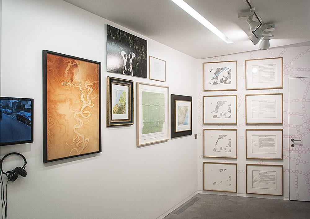 Mapping at last à la galerie Eric Mouchet : la cartographie dans tous ses états