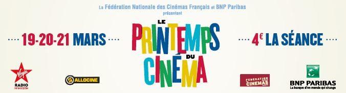 Printemps du cinéma 2017 : 4€ la séance du 19 au 21 mars. Le Programme et notre sélection !
