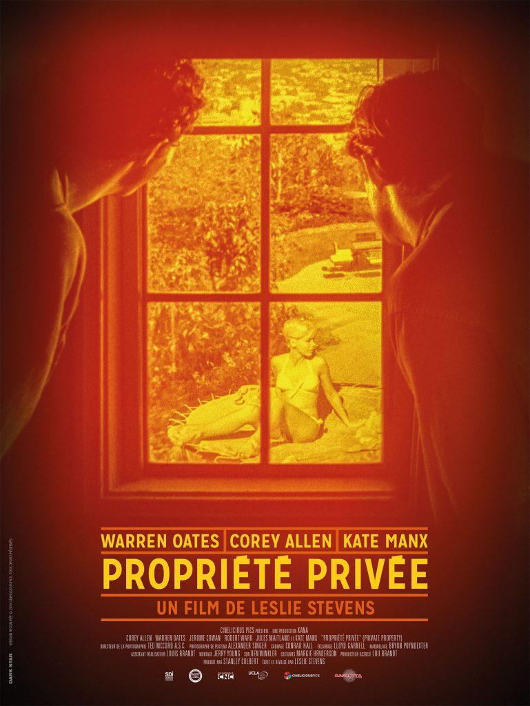 Sortie dvd : «Propriété Privée», un film noir de Leslie Stevens restauré