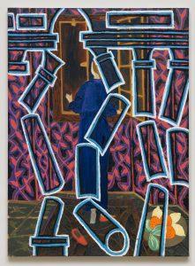 Nocturne I, 2016. Huile sur toile, 100 x 70 cm. © Galerie Maeght, Paris.