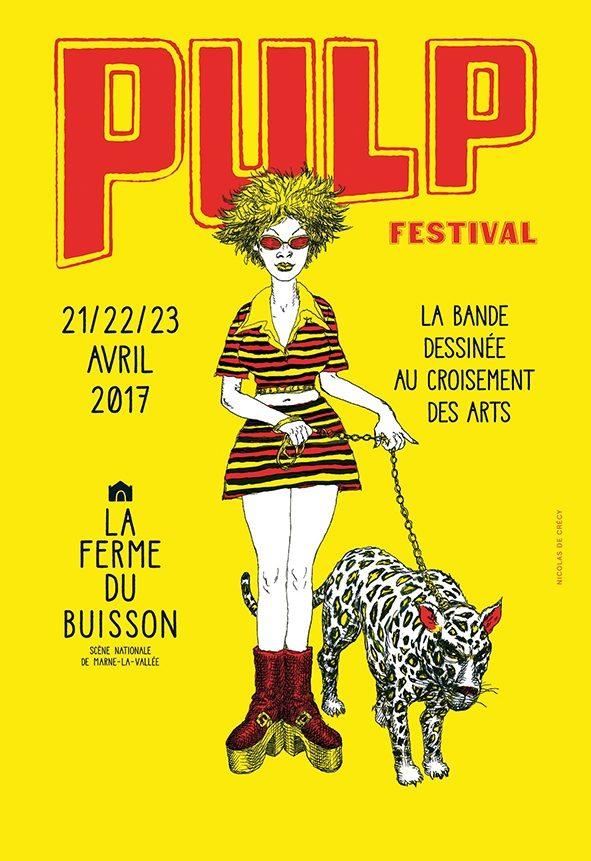 Le festival Pulp : La bande dessinée au croisement des arts