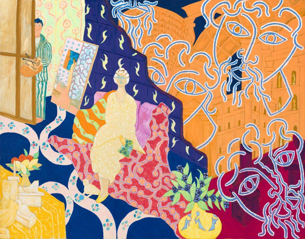 Marco Del Re à la galerie Maeght à Paris : Invitation au voyage