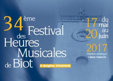 34ème Festival des Heures Musicales de Biot