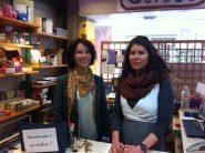 Dominique Bastide et Amandine Lévêque, Co-gérantes de la librairie L'Eau Vive - Avignon © Alice Dubois / TLC