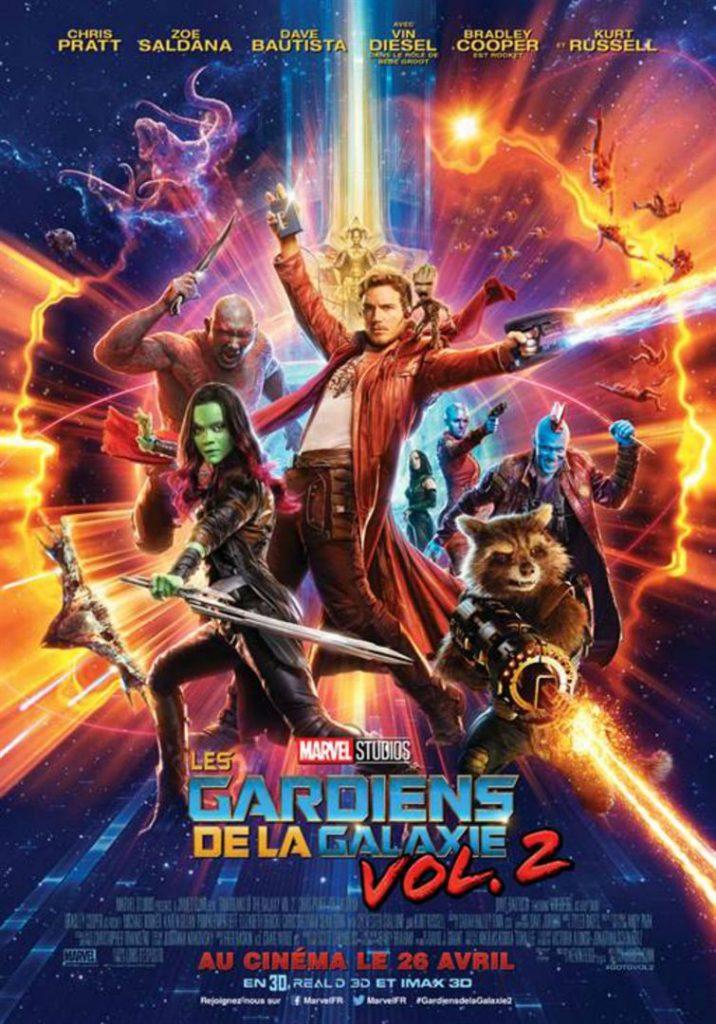 [Critique] Les Gardiens de la Galaxie Vol.2 : Une suite copieuse qui laisse sur sa faim