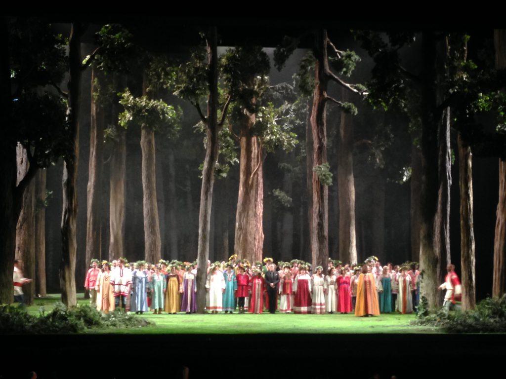 «La Fille de neige» par Tcherniakov à l'Opéra Bastille : l'appel de la forêt