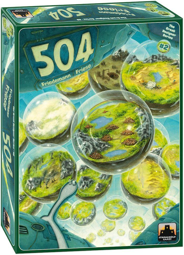 [Jeu de société] «504» : le projet oulipien de Friedemann Friese