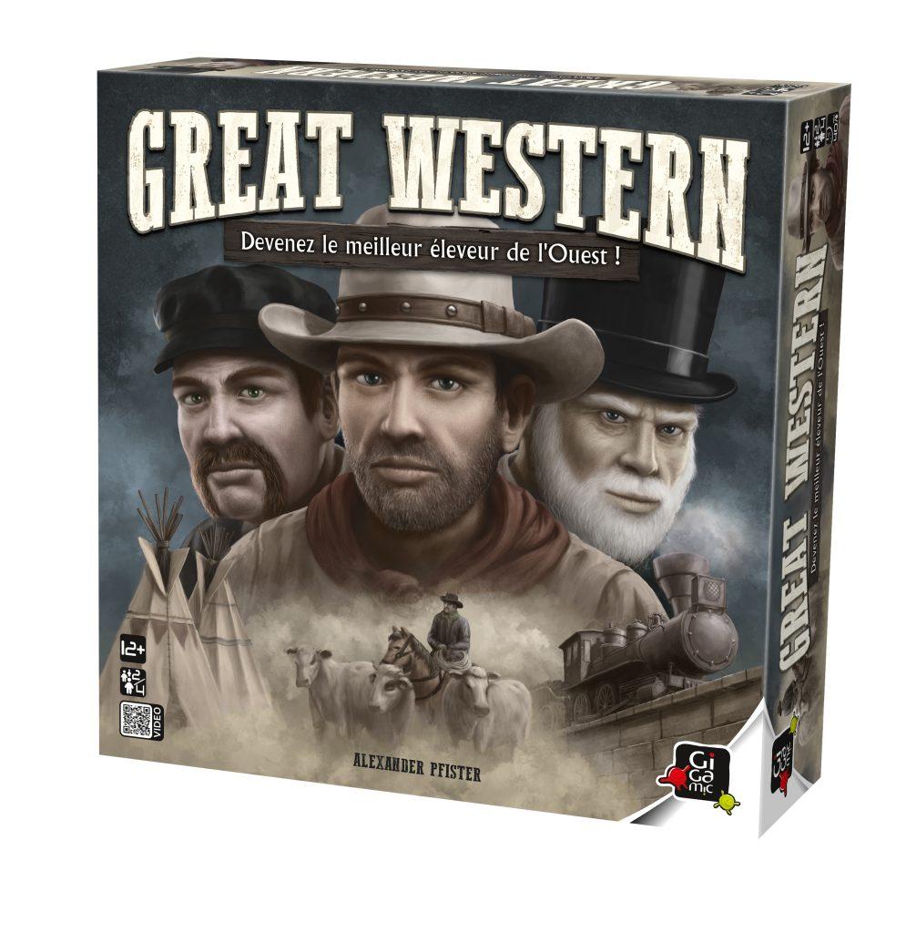 [Jeu de société] «Great Western» : les aventures des garçons bouviers