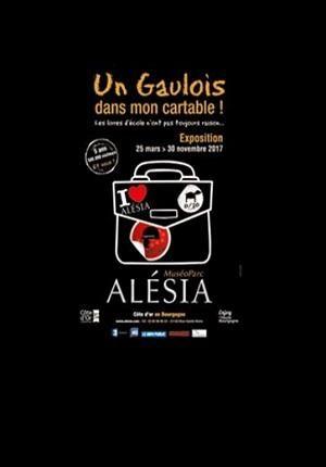 «Un Gaulois dans mon cartable!» Une exposition intergénérationnelle à voir au Muséo Parc d'Alésia jusqu'au 30 novembre 2017 !