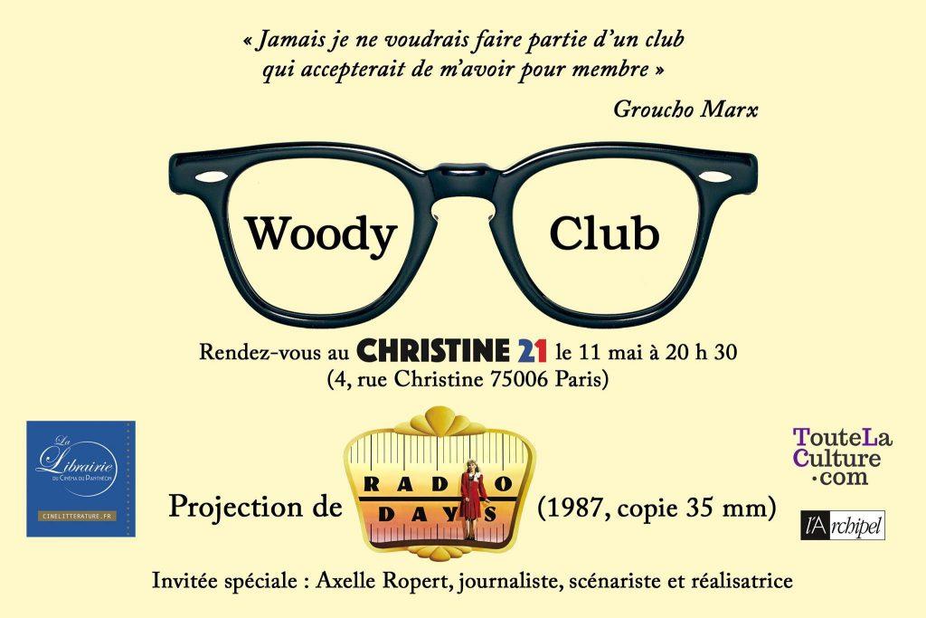 Les cinéphiles en rêvaient, le Woody Club l'a fait !