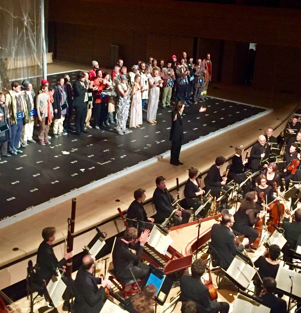«La Création», prouesse musicale enivrante d'Insula Orchestra et Accentus sculptée par Laurence Equilbey.