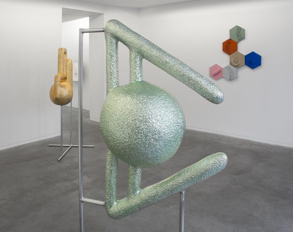 Samir Mougas .techno à la galerie Eric Mouchet à Paris