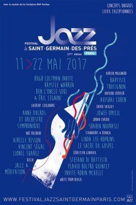 [Festival Jazz à Saint-Germain] Baptiste Trotignon a fait vibrer l'Eglise Saint-Germain-des Prés le 12 mai