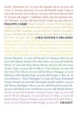 «J'irai danser à Orlando» de Philippe Corbé, du sang et des larmes