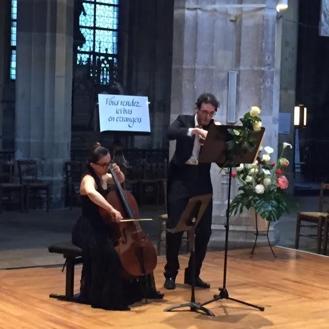 [Live-report] Le duo Gallis fait redécouvrir les compositions pour alto et violoncelle à Saint-Merry