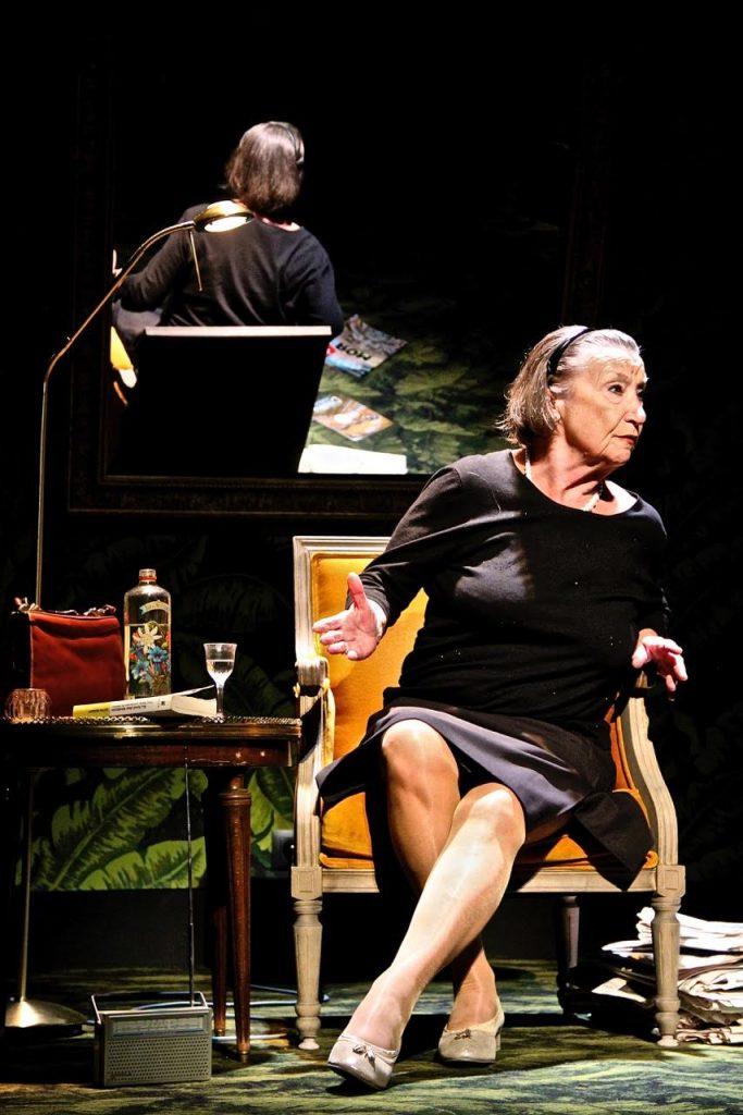 «Un grand amour» de Nicole Malincoli avec Janine Godinas. [THEATRALES CHARLES DULLIN]
