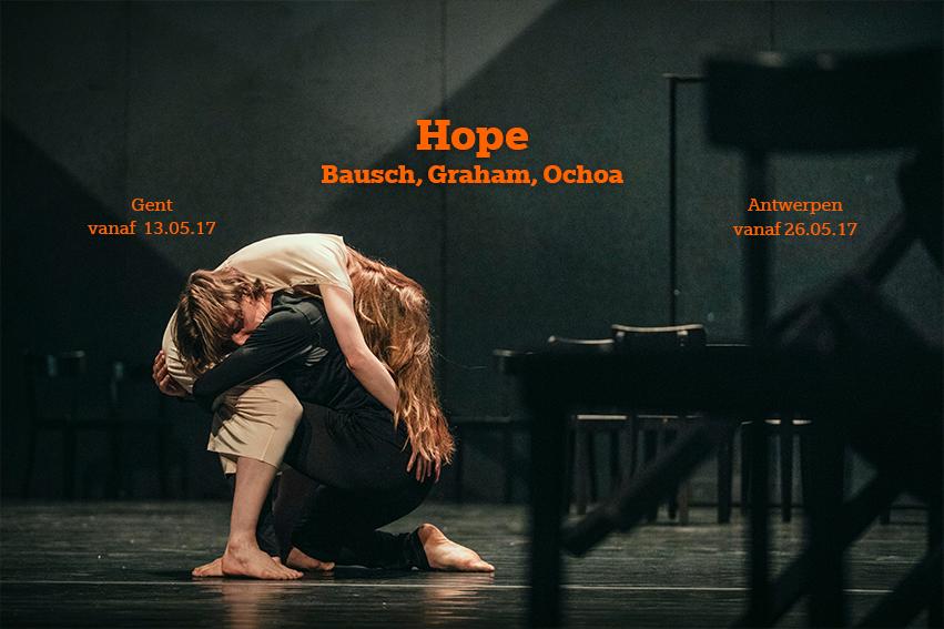 «Hope», Annabelle Lopez Ochoa côtoie Pina Bausch et Martha Graham à l'Opéra des Flandres