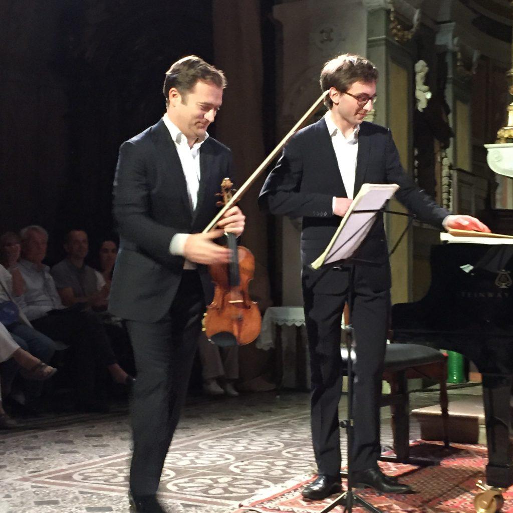 Renaud Capuçon et Guillaume Bellom enchantent les 34e Heures Musicales de Biot [Live-Report]