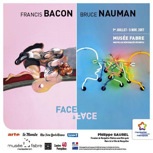 Francis Bacon et Bruce Nauman: le face à face au Musée Fabre