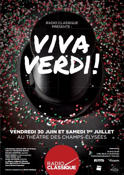Radio Classique vous donne rendez-vous avec Verdi au TCE