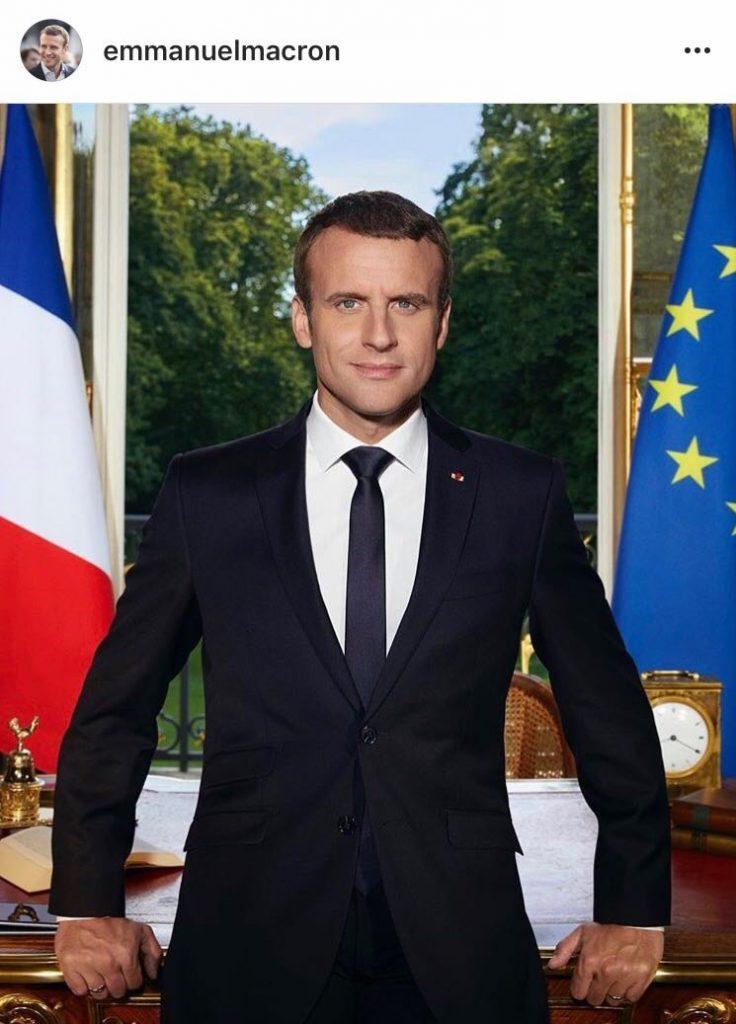 Le portrait officiel d'Emmanuel Macron dévoilé!