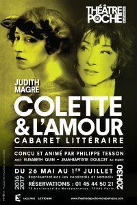 «Colette et l'amour», cabaret littéraire par Philippe Tesson au Poche