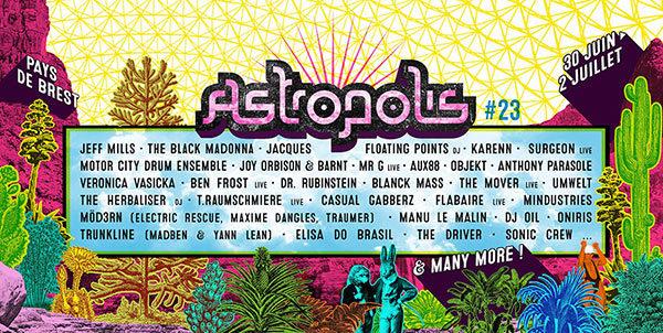 Gagnez 2X1 place pour la soirée au Manoir de Keroual du samedi 1er juillet (festival Astropolis)