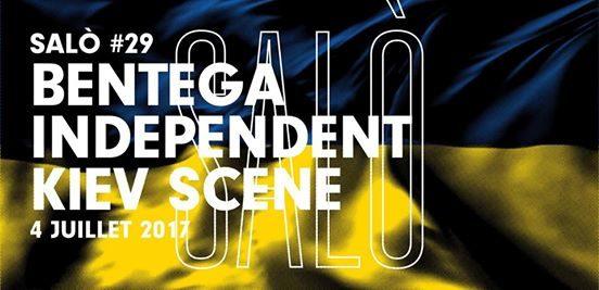 Gagnez 10×2 places pour la soirée SALÒ #29 : Bentega Independent Kiev Scene