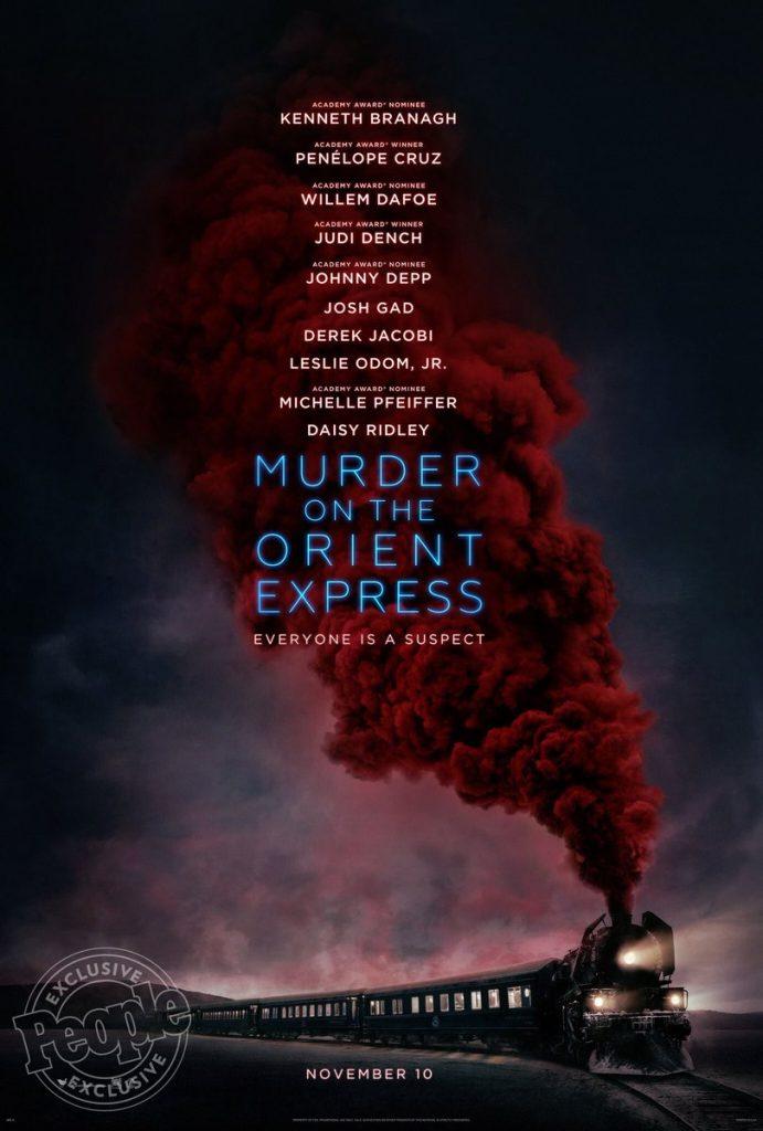 «Crime de l'Orient-express» d'Agatha Christie adapté à l'écran avec un casting cinq étoiles