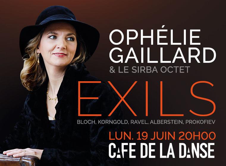 Gagnez 4×2 places pour le concert OPHELIE GAILLARD & SIRBA OCTET «EXILS»