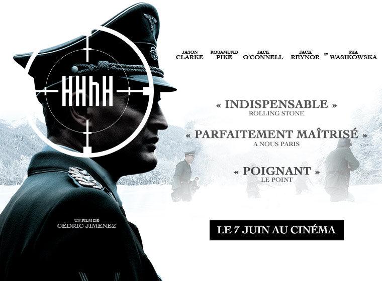 Gagnez 10×2 places pour le film HHhH de Cédric Jimenez