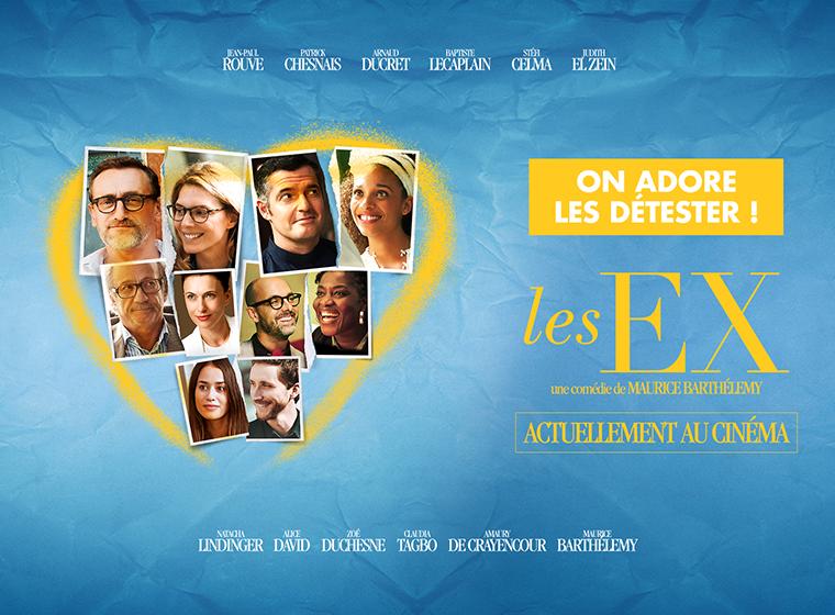 Gagnez 5×1 place pour le film Les EX en salles le 21 juin