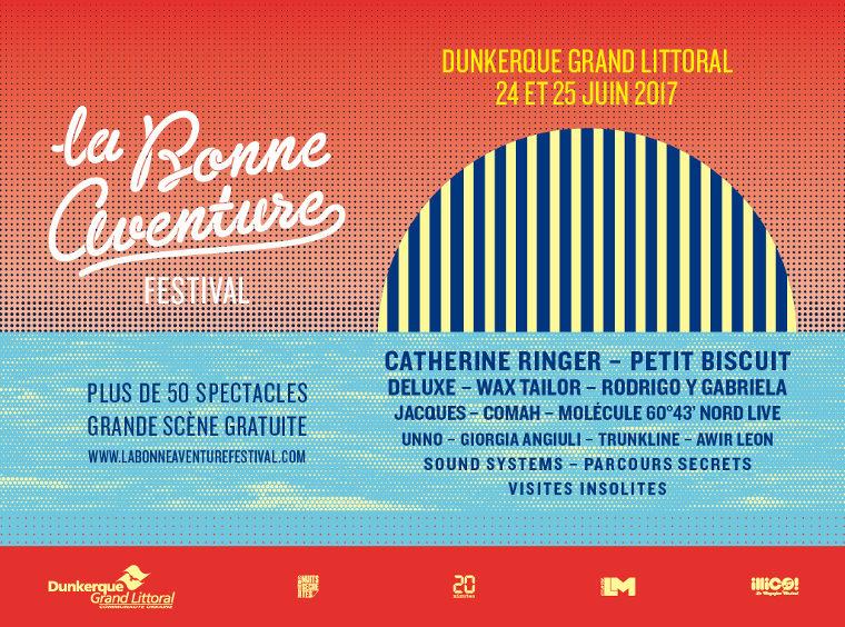 Gagnez 2X2 places pour la soirée KLUB du festival La Bonne Aventure