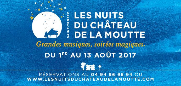 Gagnez 2×2 places pour les concerts des Nuits du Château de la Moutte à St Tropez (3 août)