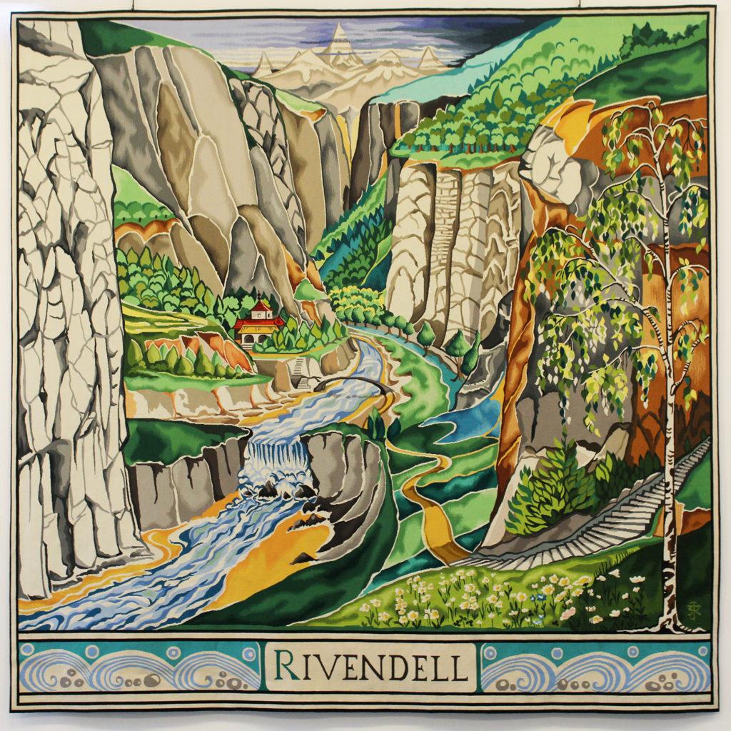 Bruno Ythier, conservateur de la Cité internationale de la tapisserie nous parle de « Aubusson tisse Tolkien »